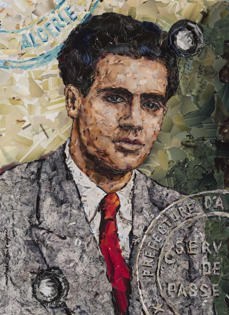 Portrait de W. Sportisse par Mustapha Boutadjine (2012).