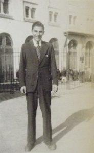 Élie Chaïa à Alger, mars 1946.