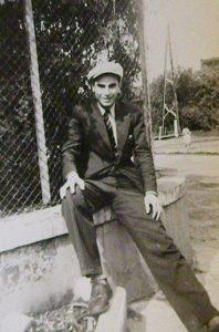 Boufarik, avril 1946. Élie Chaïa en tournée pour l'UJDA.